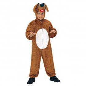 Full-Body Pluche Hond Kind Kostuum Kind