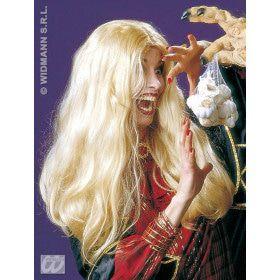 Pruik, Heks Morgana Lang Blond