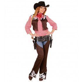 Cow Girl Vrouw Kostuum