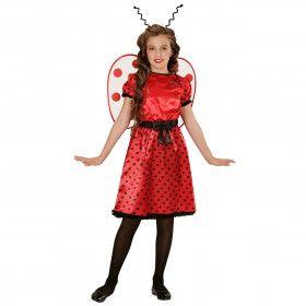 Cute Lieveheersbeestje Meisje Kostuum