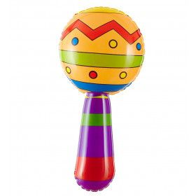 Braziliaanse Opblaasbare Sambaballen Met Geluid 20 Centimeter