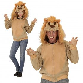 Grappige Hoodie, Leeuw Kostuum