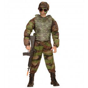 Realistisch Ogend Kogelvrij Vest Camouflage, Kind Kind
