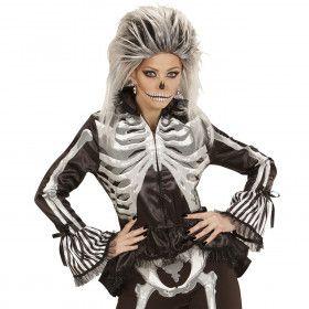 Aansluitend Dames Jasje Skelet Vrouw