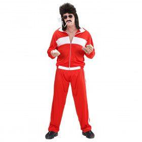 Fout Rood New Kids Trainingspak Man Kostuum