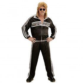 Zwart Fout New Kids Trainingspak Man Kostuum