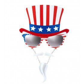 USA Bril Uncle Sam