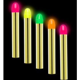 Glow In The Dark Set Van 5 Neon Schminkstiften