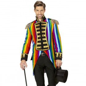 Multicolor Frackjas Regenboog Man