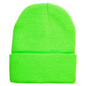 Gooffey Beanie Neon Groen