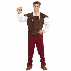 Taveerne Opzichter Benno Man Kostuum