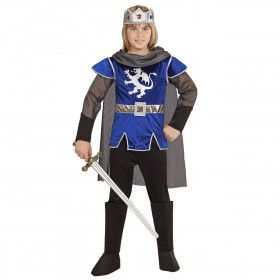 King Arthur Blue Steel Blauw Jongen Kostuum