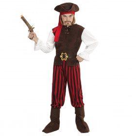 Caribische Piratenjongen Carlos Kostuum