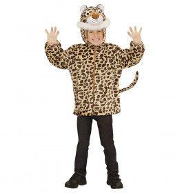 Hoodie 98 Centimeter Gespikkeld Luipaard Kind