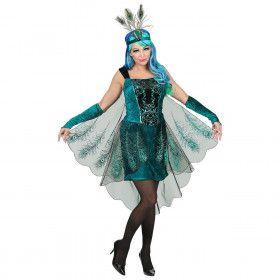 Terecht Trotse Pauw Vrouw Kostuum