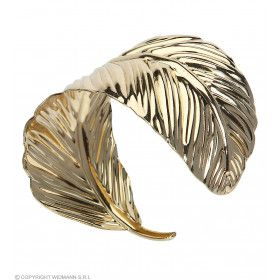 Armband Gouden Blad Rome