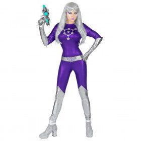 Veroveraar Van De Ruimte Sally Saturnus Vrouw Kostuum