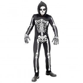Botten En Beenderen Skelet Halloween Kind Kostuum