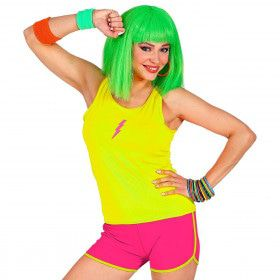 Sportieve Hotpants Neon Roze Vrouw