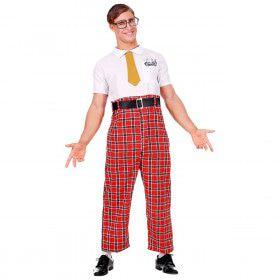 Te Slim Om Mooi Te Zijn Nerd Man Kostuum