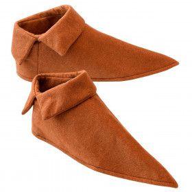 Puntige Schoenhoezen Middeleeuwen