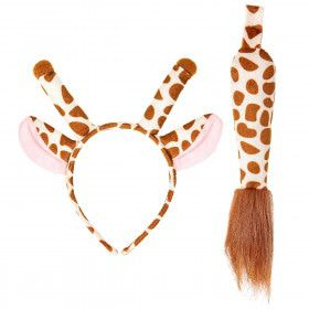 Horens Met Oren En Staart Giraffe