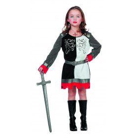 Strijdperk Ridder Meisje Kostuum