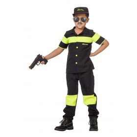 Potige Politie Nederland Jongen Kostuum