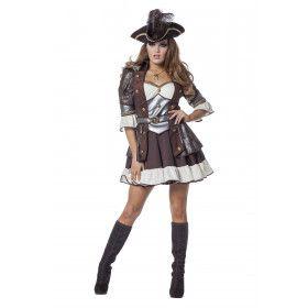 Fashionable Pirate De Luxe Vrouw Kostuum