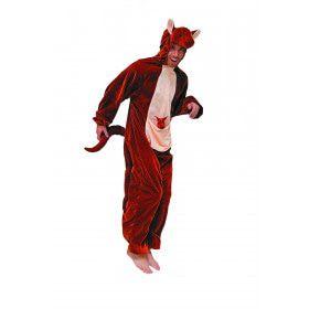 Reuzensprong Kangoeroe Man Kostuum