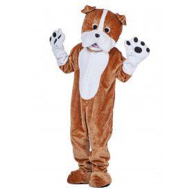 Mascotte Bulldog Benny Kostuum