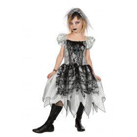 Zombie Bruid Meisje Kostuum