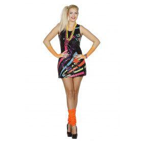 Paillettenjurk Disco Dancer Vrouw