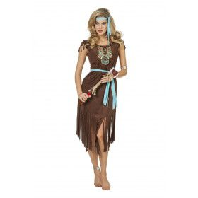 Indiaanse Aranama Luxe Vrouw Kostuum