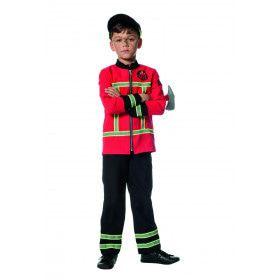Brandweerman Roetveeg Zonder Vrees Jongen Kostuum