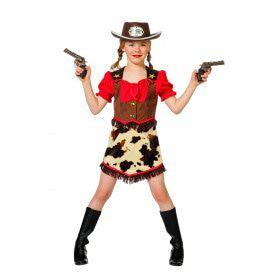 Lekker Knallen Cowgirl Texas Meisje Kostuum