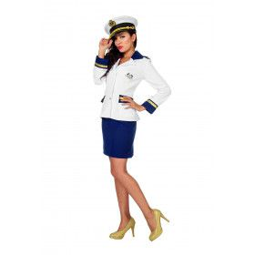 Officier Marine Fregat Vrouw Kostuum