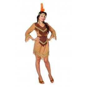 Gracieuze Gazelle Arkansas Indiaan Vrouw Kostuum