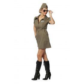 Chinook Leger Helikopter Piloot Vrouw Kostuum