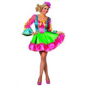 Clown Circus Ringling Vrouw Kostuum