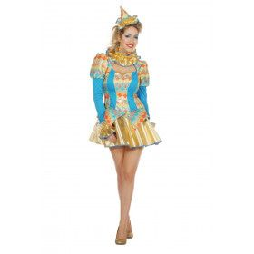 Pepa Plana Clown Vrouw Kostuum
