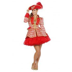 Rode Show Jas Opera Vrouw