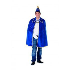 Cape Prins Carnaval Fluweel Blauw Man