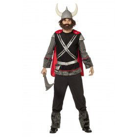 Viking Krijger Drakenboot Man Kostuum