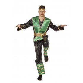 Dansende Gazelle Ninja Man Kostuum