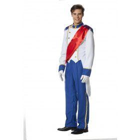 Gala Kroning Koning Man Kostuum