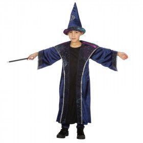 Sterren Tovenaar Hemels Blauw Jongen Kostuum