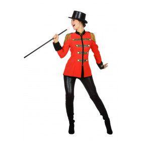 Viva Las Vegas Showgirl Circus Directrice Vrouw