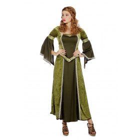 Degelijke Zedige Burcht Vrouwe Kostuum