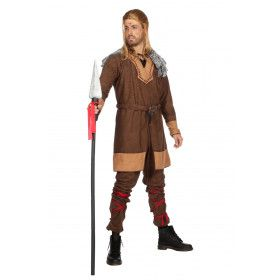 Barbaarse Krijger Leif Leifson Man Kostuum